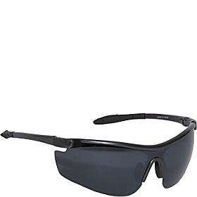 Wrap Sport Sunglasses Black/Black