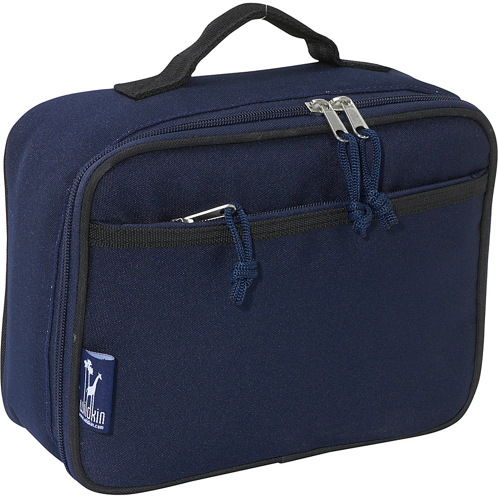 Wildkin Navy Blue Lunch Box Navy Blue - Wildkin Travel Coolers - Travel Accessories, Travel Coolers