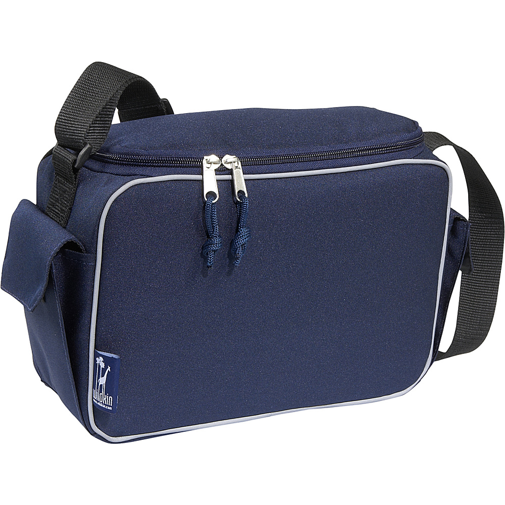 Wildkin Navy Blue Lunch Cooler Navy Blue - Wildkin Travel Coolers - Travel Accessories, Travel Coolers