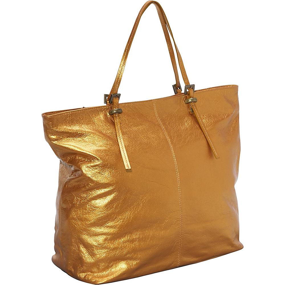 Latico Leathers Nadia - Metallic Gold - Handbags, Leather Handbags