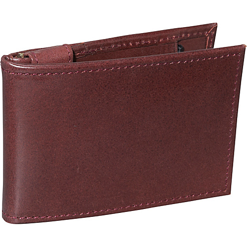 Dopp Verona Thinfold Money Clip Wallet - Burgundy