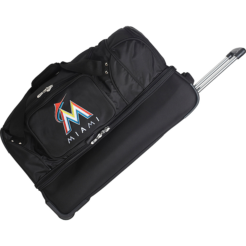 Denco Sports Luggage Florida Marlins 27 Rolling Drop - Duffels, Travel Duffels