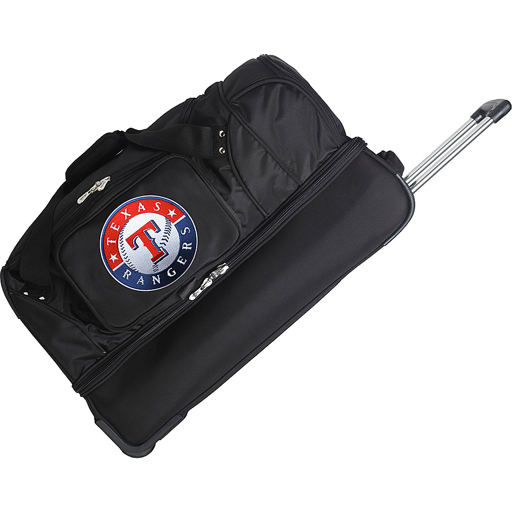 Denco Sports Luggage Texas Rangers 27 Rolling Drop - Duffels, Travel Duffels