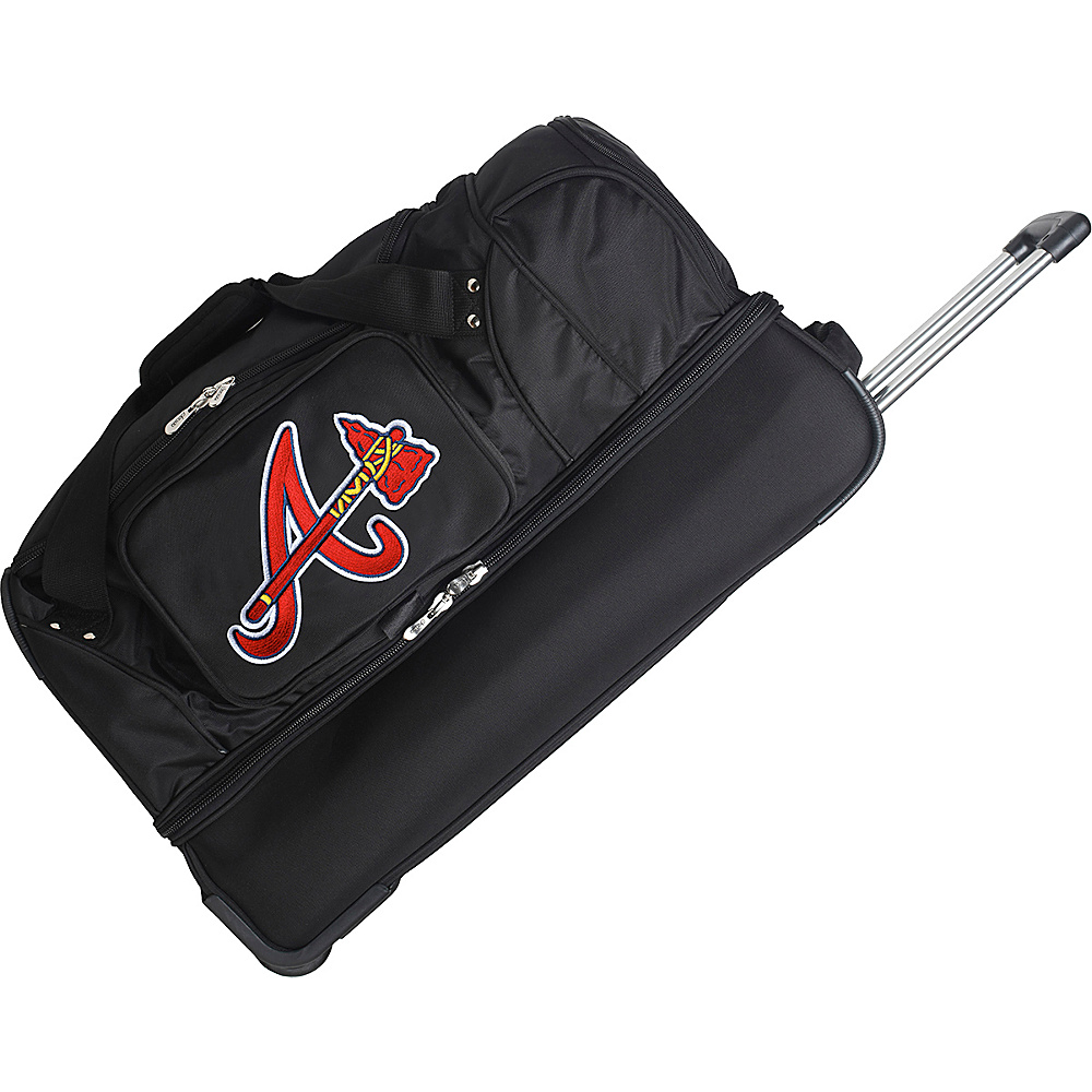Denco Sports Luggage Atlanta Braves 27 Rolling Drop - Duffels, Travel Duffels