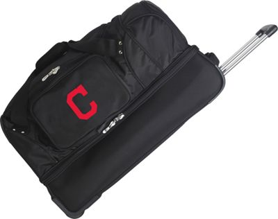 "Denco Sports Luggage Cleveland Indians 27"""" Rolling Drop"