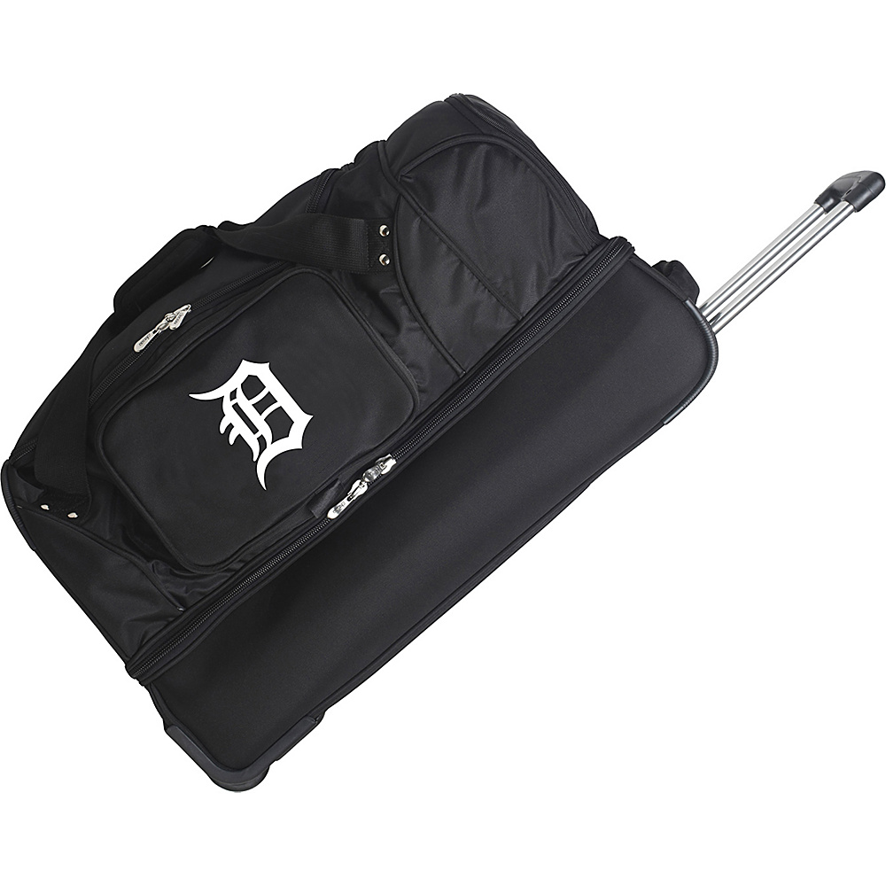 Denco Sports Luggage Detroit Tigers 27 Rolling Drop - Duffels, Travel Duffels