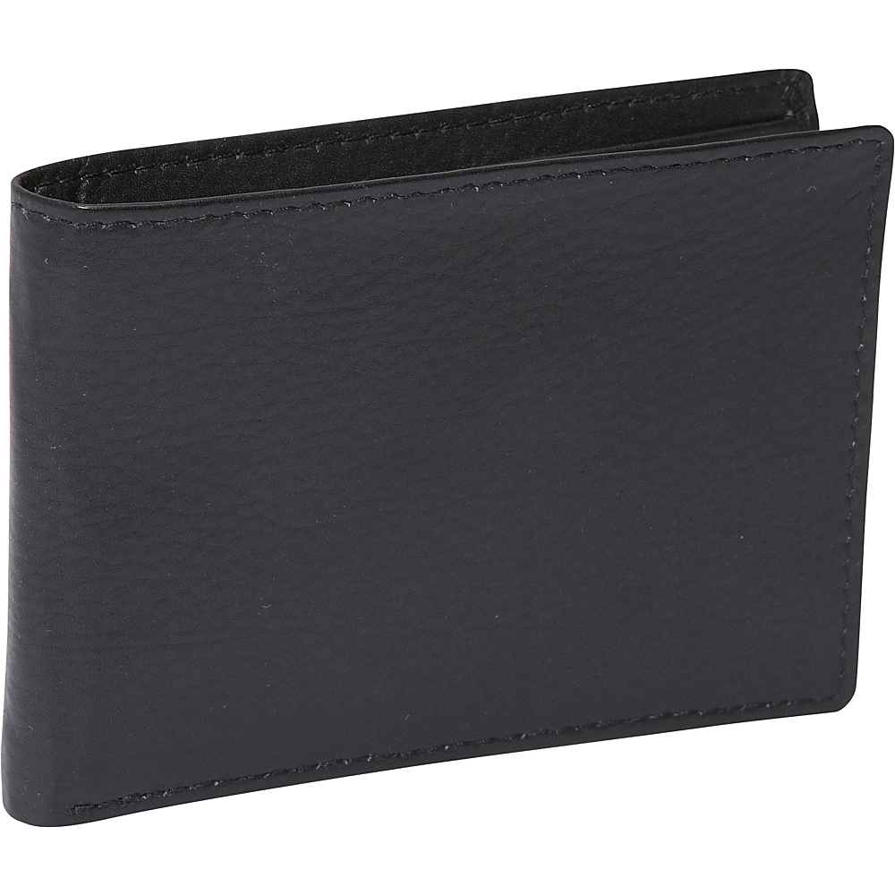Buxton Houston Front Pocket Slimfold - RFID - Black - Work Bags & Briefcases, Men's Wallets
