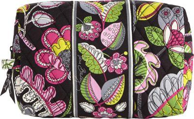 Vera Bradley Large Cosmetic Moon Blooms - Vera Bradley Ladies Cosmetic Bags