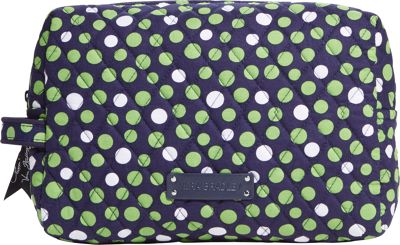 Vera Bradley Large Cosmetic Lucky Dots - Vera Bradley Ladies Cosmetic Bags