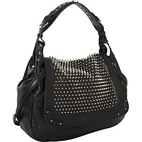 Rebecca Minkoff Moonstruck Flap Hobo w/ Spikes - eBags.com from ebags.com