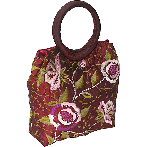 Moyna Handbags Embroidered Evening Bag - Clutch