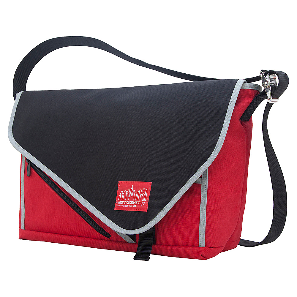 Manhattan Portage Flat Iron Laptop Messenger (LG) - Work Bags & Briefcases, Messenger Bags