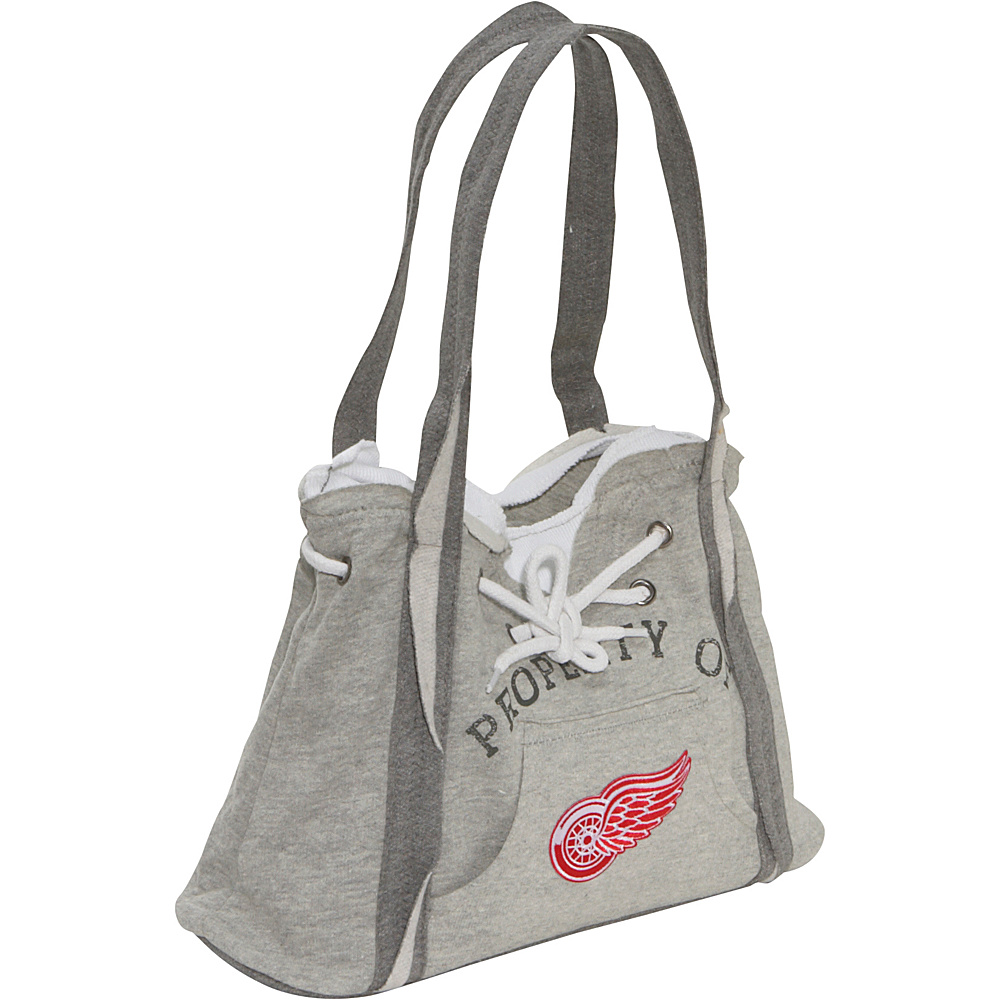 Littlearth NHL Hoodie Purse Grey/Detroit Red Wings Detroit Red Wings - Littlearth Fabric Handbags - Handbags, Fabric Handbags