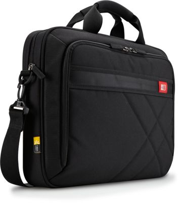 Case Logic 15.6 inch Laptop and Tablet Case Black - Case Logic Non-Wheeled Business Cases