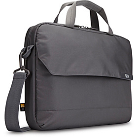 14.1'' Laptop and iPad Attaché Gray