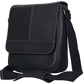 Bag for Good - Colombian Leather iPad Day Bag - eBags Exclusive Black