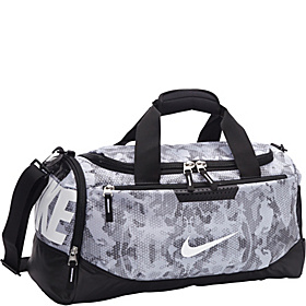 Team Training Small Duffel - Graphic Cool Grey/Black/White-Camo Print