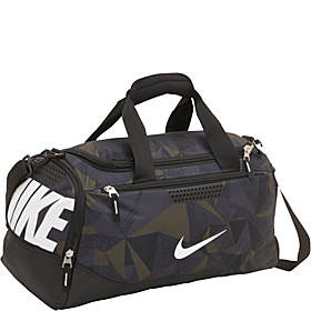 Team Training Small Duffel - Graphic Fracture Camo Print/Black/(White)