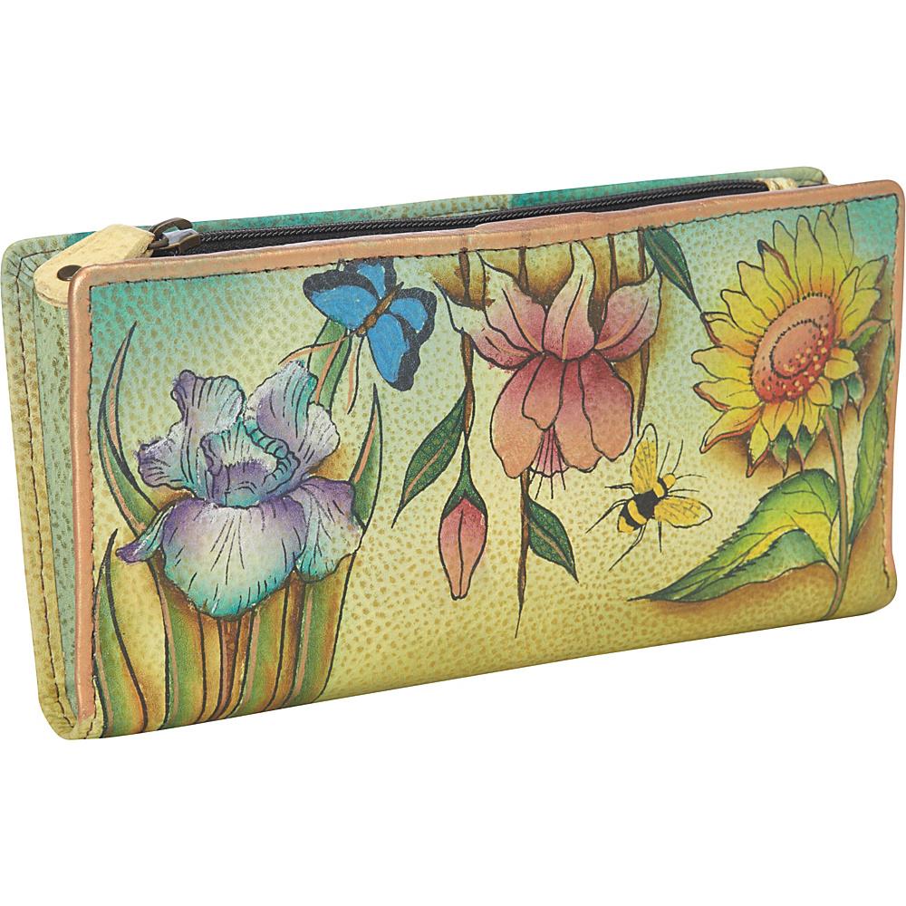 Anuschka Ladies Clutch Wallet Floral Dreams Anuschka Women s Wallets