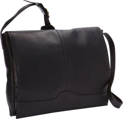 ClaireChase Messenger Satchel Black - ClaireChase Messenger Bags