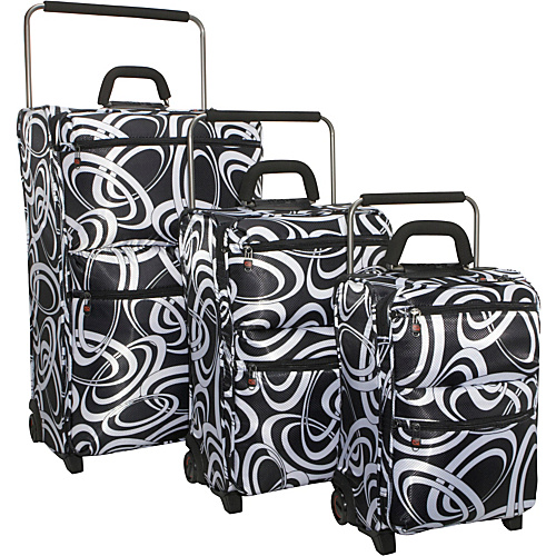 IT Luggage IT--2 World's Lightest 2-Wheeled 3 Piece