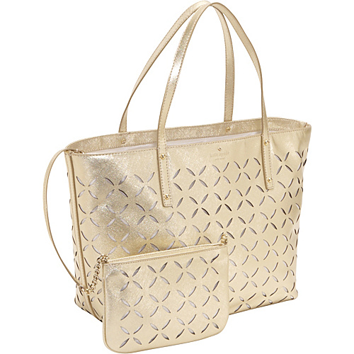 kate spade new york Spice Market Small Coal Tote Gold - kate spade new york Designer Handbags