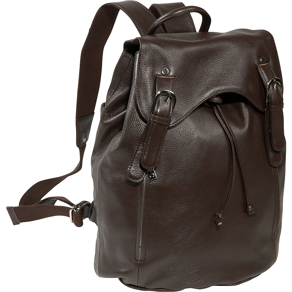 AmeriLeather Clementi Backpack Espresso - AmeriLeather Leather Handbags - Handbags, Leather Handbags