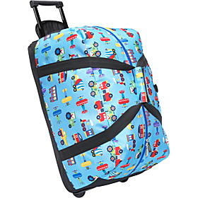 Olive Kids Trains, Planes & Truck Good Times Rolling Duffel Bag Trains Planes Trucks