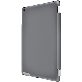 Smart Feather Back Cover for new iPad (iPad 3 & iPad w/ Retina Display) Iridescent Gray