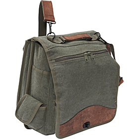 Vintage M-51 Engineers Bag - Canvas/Leather Olive
