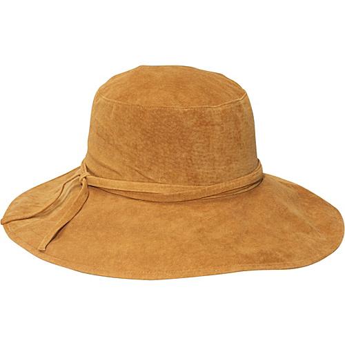 San Diego Hat Suede Bucket Hat - Camel