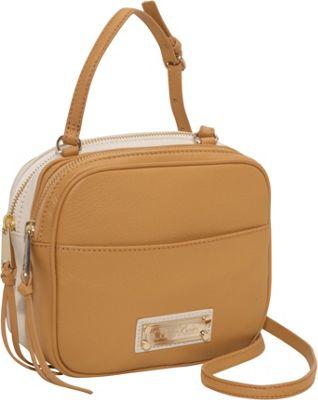 Calvin Klein Colorblock Lt Crossbody Camel Combo Calvin Klein Leather Handbags