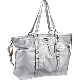 Center Stage Baby Bag Silver