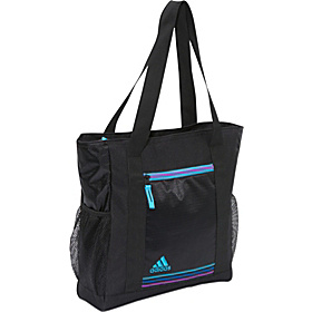 Squad Club Bag Black/Super Cyan