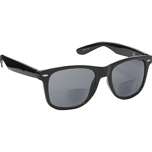 SW Global Wayfarer Fashion Sunglasses Black with Vision Power 1.5 Black - SW Global Eyewear