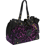 Juicy Couture Wild Things Leopard Velour Daydreamer Tote