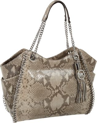 MICHAEL Michael Kors Chelsea Large Shoulder Tote- Embossed Python