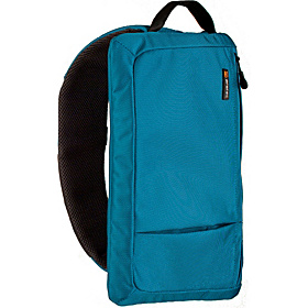 Zip iPad / Tablet Sling Bag Teal Blue