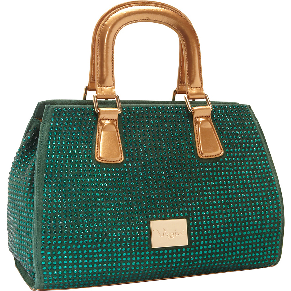 Vizzini Inc. Emeralds of Envy Green Vizzini Inc. Leather Handbags