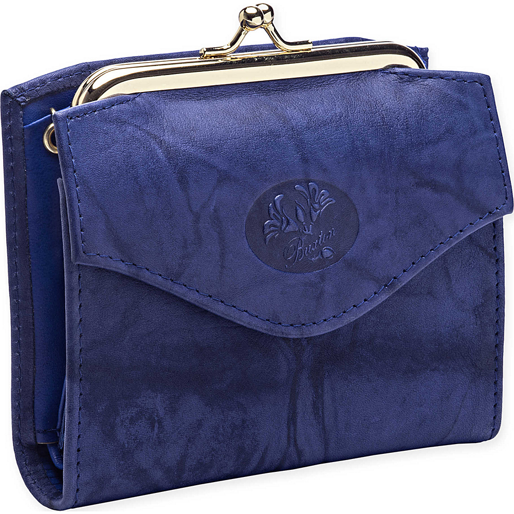 Buxton Heiress French Purse Ultramarine Buxton Women s Wallets