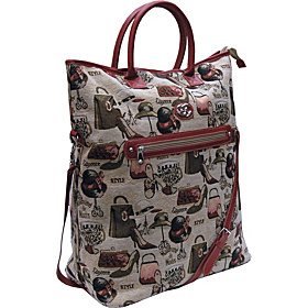 Hats Off Convertible Tote Tapestry