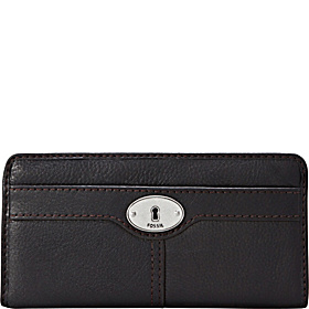 Marlow Zip Clutch Black