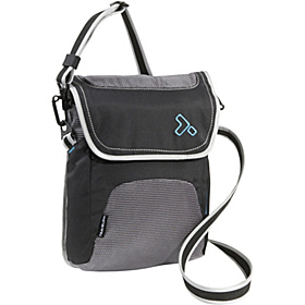 Anti-Theft React Small Messenger Bag Black