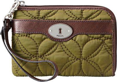 Fossil Key Per Wristlet Avocado Fossil Ladies Wallet on a String