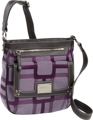 Details about Nine West Handbags Vegas Signs Crossbody - Purple
