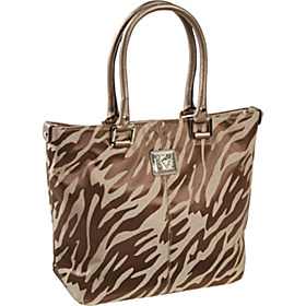AK Anne Klein Perfect Tote Large Shopper Jacqaurd