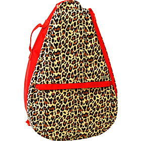 Leopard Tennis Backpack Leopard