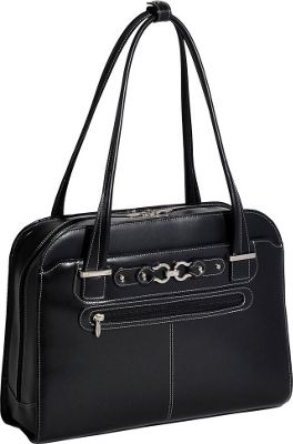 McKlein USA McKlein USA Mayfair Ladies 15 inch Laptop Tote Black - McKlein USA Women's Business Bags