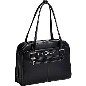 Mayfair Ladies 15'' Laptop Tote Black