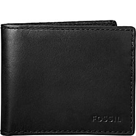 Tate Simple Bifold Wallet Black with Black